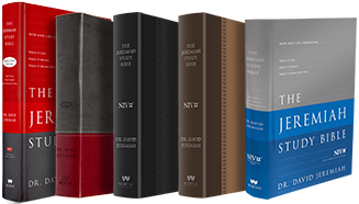 The Jeremiah Study Bible is offered in six styles